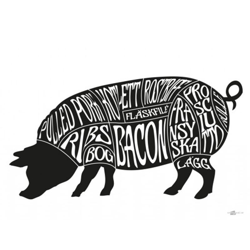styckschema gris 30x40cm